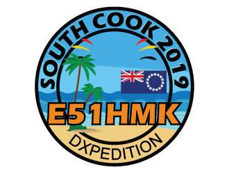 E51HMK South Cook 2019 DXpedition by DK2HM